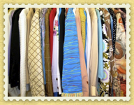 Ruthies Boutiques racks of clothing