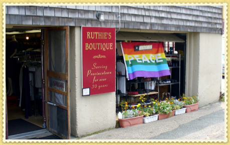 Ruthies Store Front